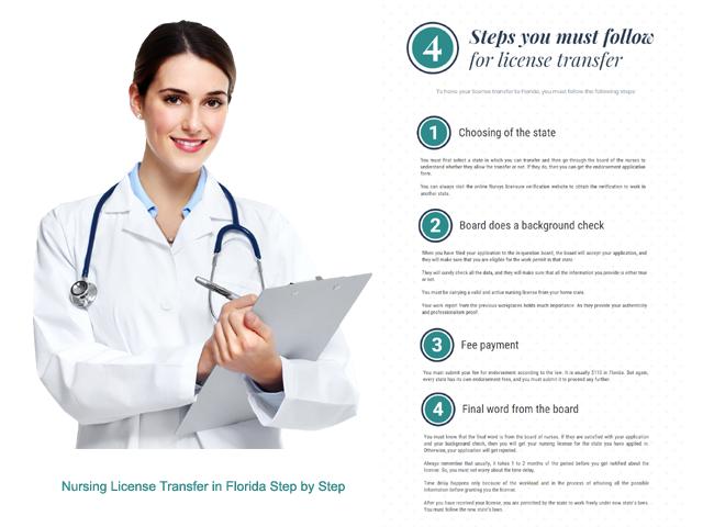 Nursing License Transfer in Florida Step by Step