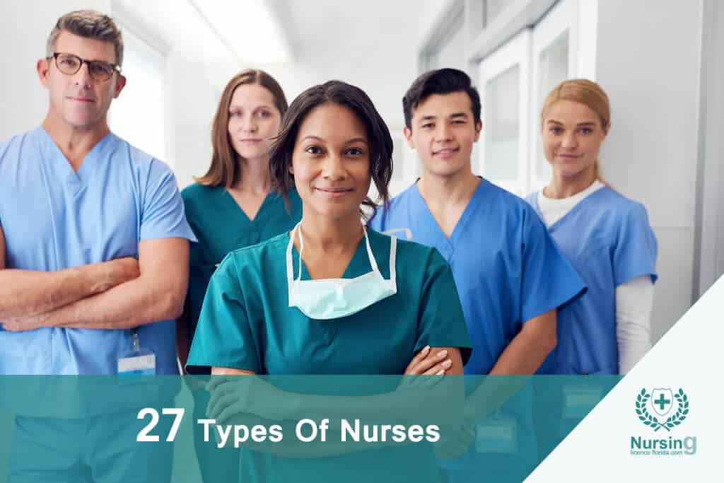 27 Types Of Nurses