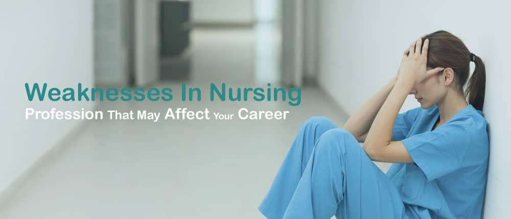 Nursing Weaknesses